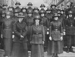 In the past, women served in limited police roles.