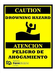 drowning hazard