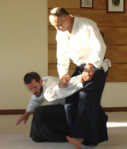 More recently, practicing Aikido and Japanese sword.