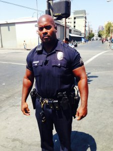 """I don't want to be your security guard. I want to be an agent for you. That's my personal goal."" -  Officer Deon Joseph, LAPD"