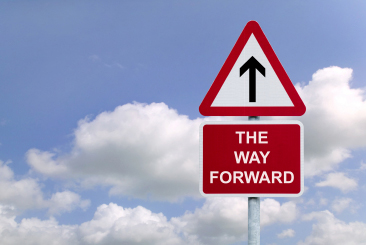 The-Way-forward-sign