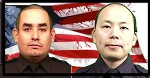 NYPD Officers Rafael Ramos and Wenjian Liu, KIA