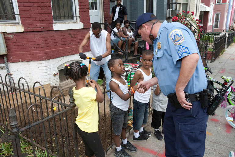 "effective community policing Communication key to success of community policing programs  ""educating  the public is key to effective crime prevention,"" says denny powers, criminal."