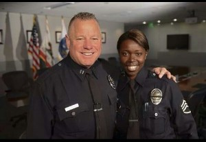 Cmdr. Phil and Sgt. Emada Tingirides, LAPD