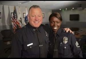Cmdr. Phil and Sgt. Emada Tingirides, LAPD