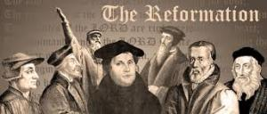 In the 16th century, Martin Luther, a monk, posted 95 theses on a church door. This led to the Protestant Reformation. And this re-formation was not easy and not without a struggle.