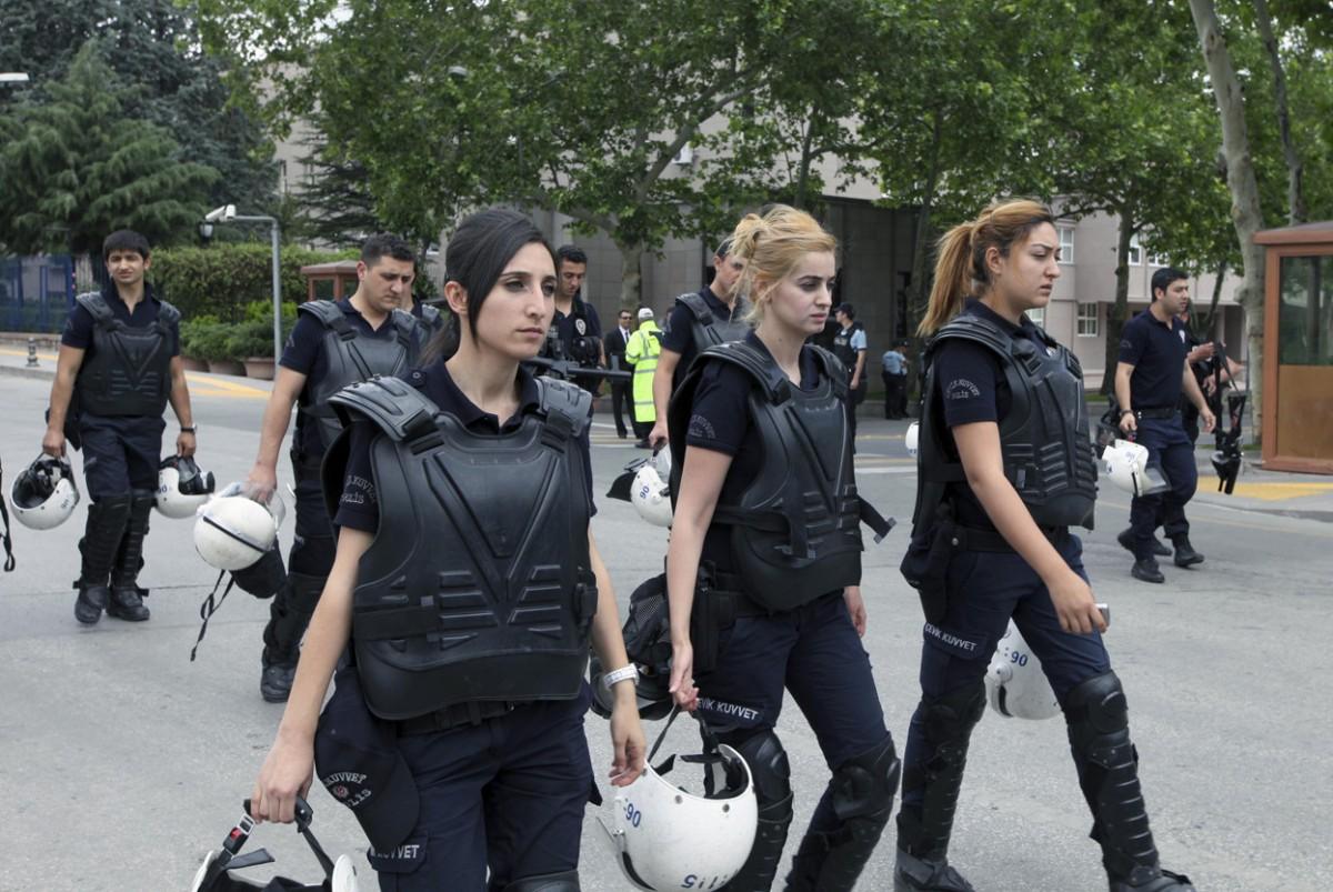 Women Police -- #MeToo?